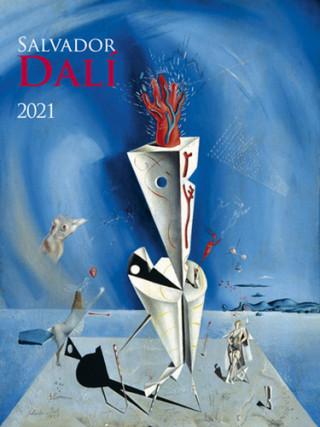 Salvador Dalí 2021 - nástěnný kalendář