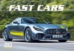 Fast cars 2021 - nástěnný kalendář