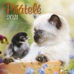 Přátelé 2021 - nástěnný kalendář