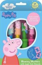 Foukací fixy Peppa Pig