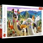 Puzzle 500 Lamy w górach 37383