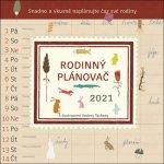 Rodinný plánovač - nástěnný kalendář 2021