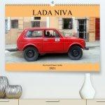 LADA NIVA - Russlands Dauer-Läufer (Premium, hochwertiger DIN A2 Wandkalender 2021, Kunstdruck in Hochglanz)