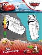 Auta - Omalovánky 3D postavy