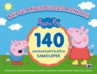 Peppa Pig Bav se a nalepuj zas a znovu!