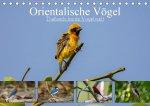 Orientalische Vögel - Thailands bunte Vogelwelt (Tischkalender 2021 DIN A5 quer)
