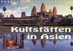 Kultstätten in Asien (Tischkalender 2021 DIN A5 quer)