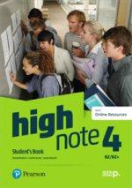 High Note 4 Student's Book + kod (Digital Resources + Interactive eBook)