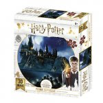 Harry Potter 3D puzzle - Bradavice v noci 500 dílků