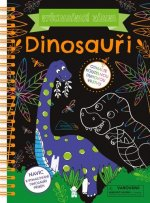 Vyškrabávací zábava Dinosauři