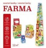 Naučné kostky/náučné kocky - Farma