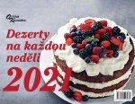 Sváteční dezerty na každou neděli 2021 - stolní kalendář