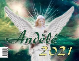 Andělé 2021 - stolní kalendář