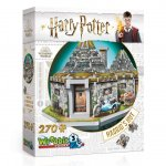 Wrebbit 3D Puzzle Harry Potter Hagrid's Hut 270