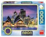 Puzzle 1000 Opera v Sydney neon