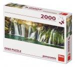Puzzle 2000 Plitvické vodopády Panoramic