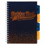 Kołozeszyt Pukka Pad B5 Project Book Blush granatowy, kratka