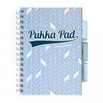 Kołozeszyt Pukka Pad A5 Glee Project Book niebieski jasny, kratka