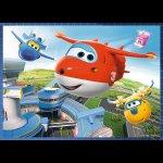 Puzzle: Super Wings: Úžasný tým 4v1 (12,15,20,24 dílků)