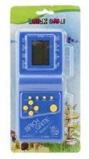 Digitální hra Brick Game Tetris na baterie / hlavolam plast 18 cm / 4 barvy