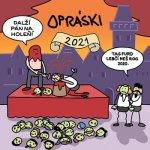 Opráski - nástěnný kalendář 2021