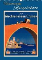 Historische Reiseplakate (Wandkalender 2021 DIN A3 hoch)