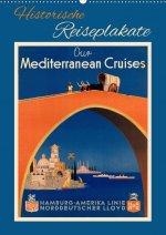 Historische Reiseplakate (Wandkalender 2021 DIN A2 hoch)