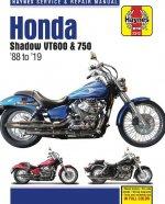 Honda Shadow Vt600 & 750 - '88 to '19