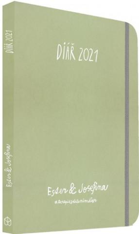 Ester & Josefina 2021 - Diář 2021