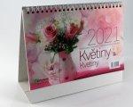 Květiny - stolní kalendář 2022