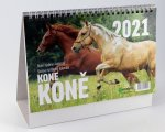 Koně - stolní kalendář 2022