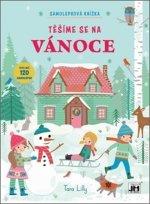Samolepková knížka Těšíme se na Vánoce
