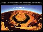 Kalendář 13 TOP NATURAL WONDERS OF THE USA - 2021 - 2022