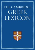 Cambridge Greek Lexicon 2 Volume Hardback Set