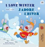 I Love Winter (English French Bilingual Book for Kids)