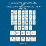 I Am Ready to Learn My Abc and I Am Ready to Learn Numbers 1 to 10 with You