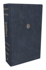 Niv, the Woman's Study Bible, Leathersoft, Blue, Full-Color, Thumb Indexed: Receiving God's Truth for Balance, Hope, and Transformation