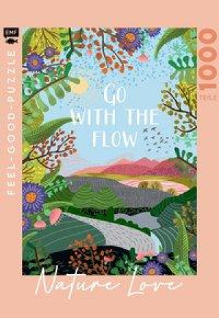 Feel-good-Puzzle 1000 Teile - NATURE LOVE: Go with the flow
