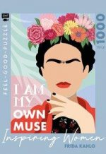 Feel-good-Puzzle 1000 Teile -INSPIRING WOMEN: Frida Kahlo