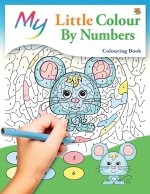 My Little Colour By Numbers Colouring Book