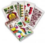 Jednohlavé hracie karty 32 listov / Jednohlavé hrací karty 32 listů