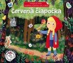 Samolepková knižka Červená Čiapočka