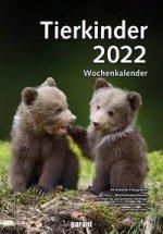Tierkinder 2022 Wochenkalender