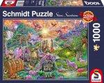 Verzaubertes Drachenland Puzzle 1.000 Teile