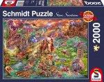 Der Schatz der Drachen Puzzle 2.000 Teile