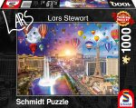Las Vegas, Night and Day Puzzle 1.000 Teile