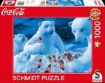 Coca Cola Puzzle 1000 Teile. Motiv  Polarbären