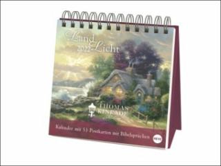Kinkade Aufstell-Postkartenkalender - Kalender 2022