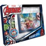 Zegarek cyfrowy  Avengers z portfelikiem MV15407