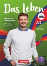 Das Leben A2: Gesamtband - Kurs- und Übungsbuch mit interaktiven Übungen auf scook.de